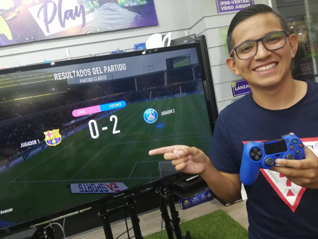 Rony Ortiz Ganador Desafio Fifa 2020