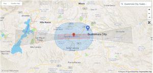 DJI EXCLUSION ZONE GUATEMALA CITY