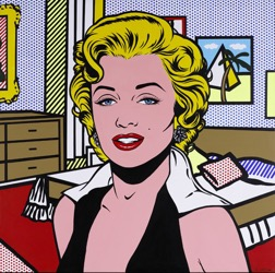 retrato marylin monroe