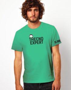 camisa el duende verde agua