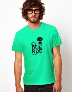 camisa el duende verde