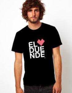 camisa el duende negra