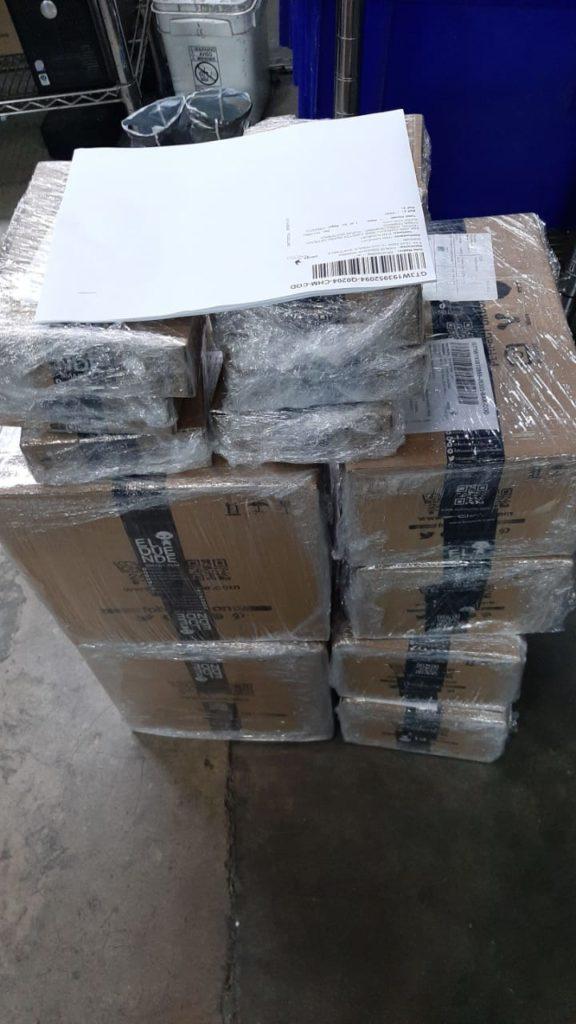 Empaque de paquetes