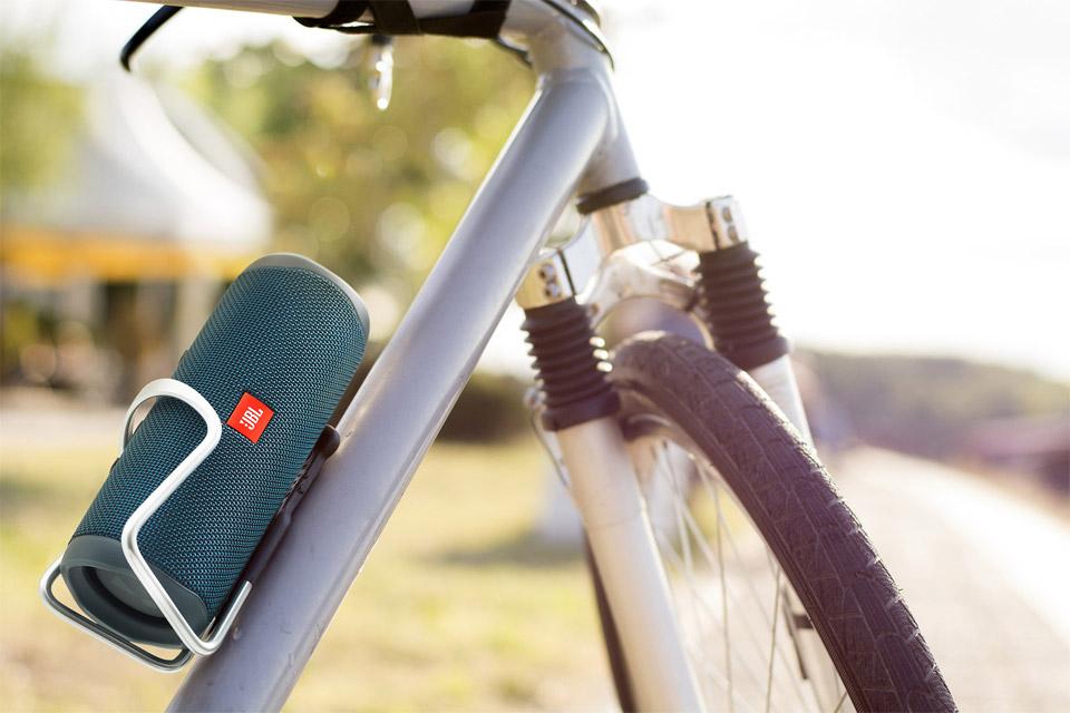 JBL Flip 5 en la Bicicleta