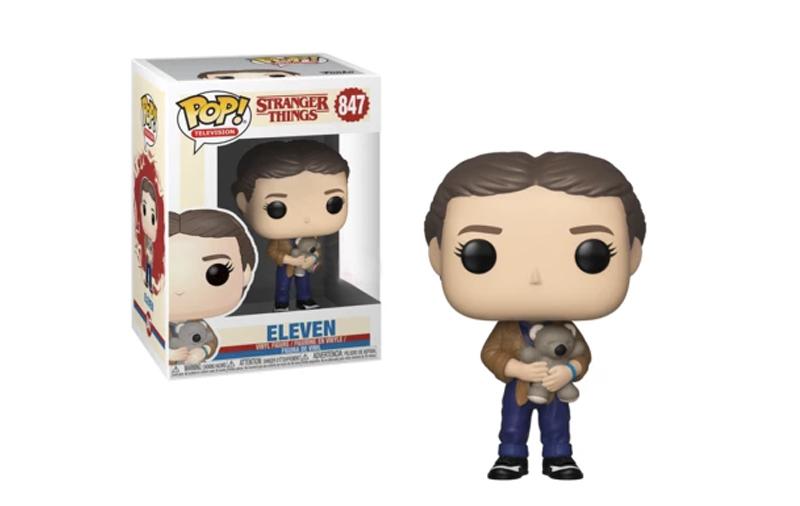 Funko Pop Eleven con un Oso