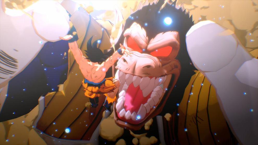 Pelea en Dragon Ball Z Kakarot