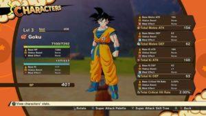 Personajes Videojuego Dragon Ball Z Kakarot