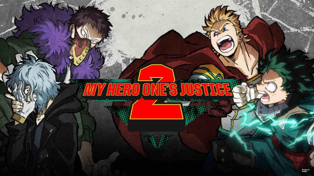 My Hero Ones Justice 2 PS4