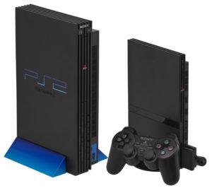 Consolas PS2 Slim vs normal