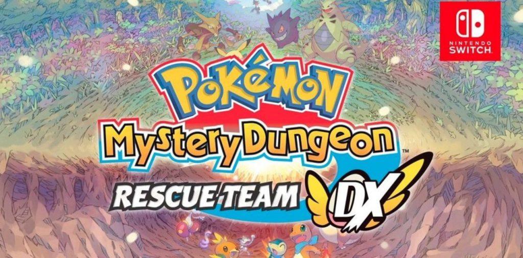 Pokemon Mystery Dungeon Rescue Team Nintendo Switch