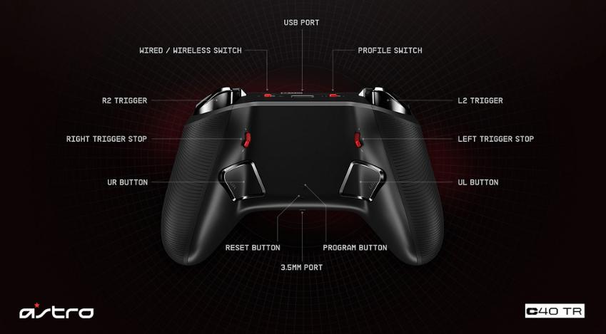 control videojuegos astro PRO