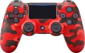control dual shock 4 red camo