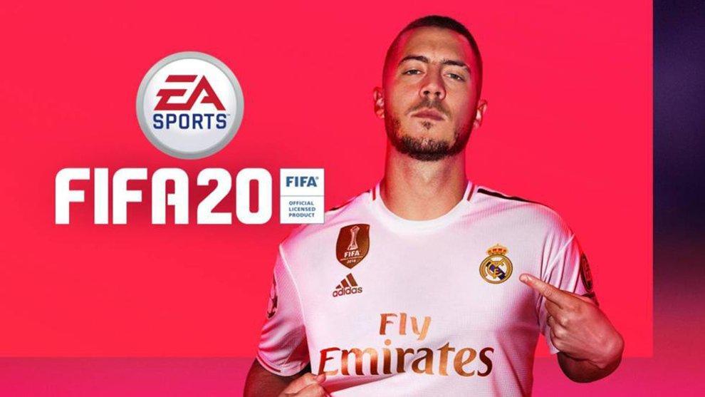 Videojuego FIFA 20 HAZARD REAL MADRID