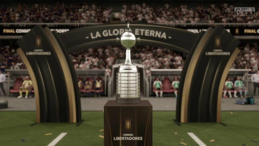 La Conmebol Libertadores en el Fifa 20