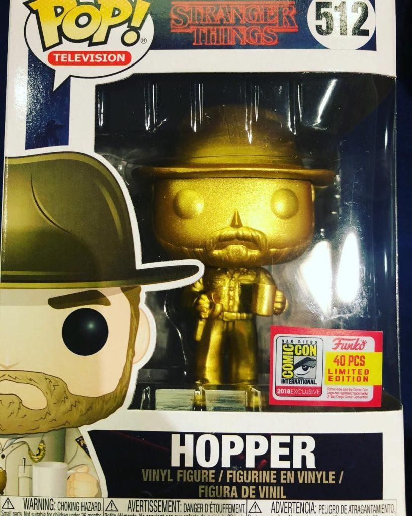Golden Hopper Funko Pop