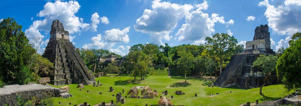 Panoramicas Piramides Guatemala