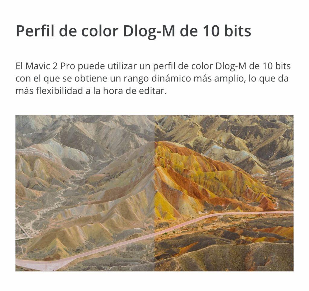 Perfil de color Montaña Titulo